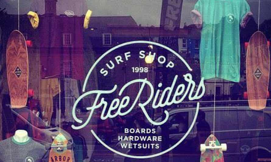 Freeriders Surf Shop, Falmouth