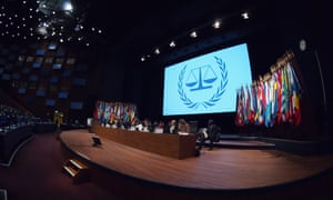 The international criminal court presents its annual report to the Assembly of State Parties to the Rome Statute, in The Hague
