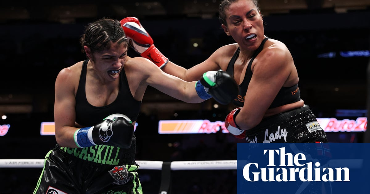 Jessica McCaskill wins rematch with Cecilia Brækhus to retain undisputed title