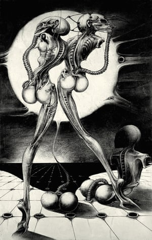 """""""At its essence, Giger's art digs down into our psyches and touches our very deepest primal instincts and fears"""" ... Ridley Scott"""
