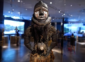 A power figure in Kongo: Power and Majesty at the Metropolitan Museum of Art in New York.