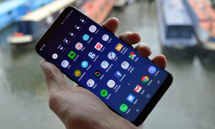 With a huge 6.2in QHD+ screen, the Galaxy S8+ is verging on tiny tablet