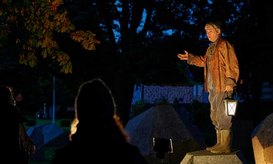 Expansive and communal … Abbey Theatre's outdoor staging of The Great Hunger.