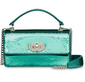 Cleo shoulder bag, £1,380, Miu Miu, from farfetch.com