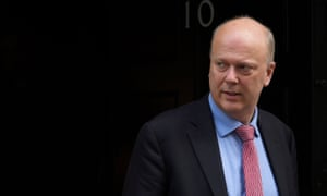 Chris Grayling, now transport secretary, overhauled the probation sector in England and Wales in 2014 when he was justice secretary.