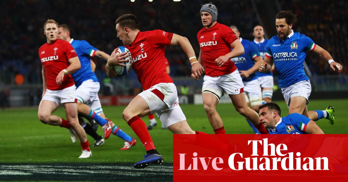 c577b691a70 Italy 15-26 Wales  Six Nations 2019 — as it happened