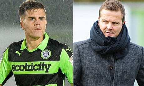 Football League roundup: Forest Green have father and son sent off in defeat