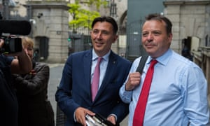 Andy Wigmore and Arron Banks say Leave.EU's legal challenge will be led by in-house lawyers.