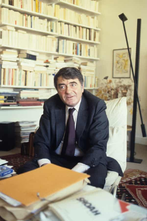 Claude Lanzmann in 1985, the year Shoah was released.