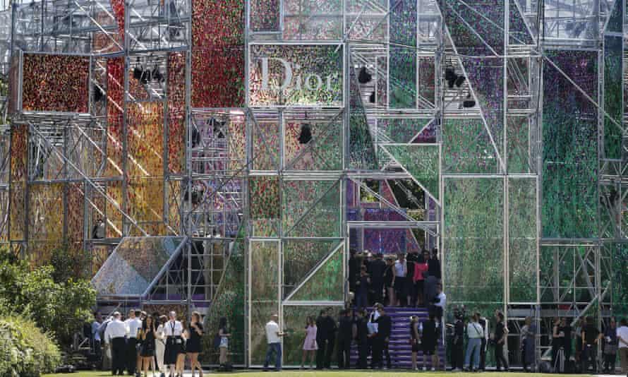 Christian Dior fashion show autumn winter 2015