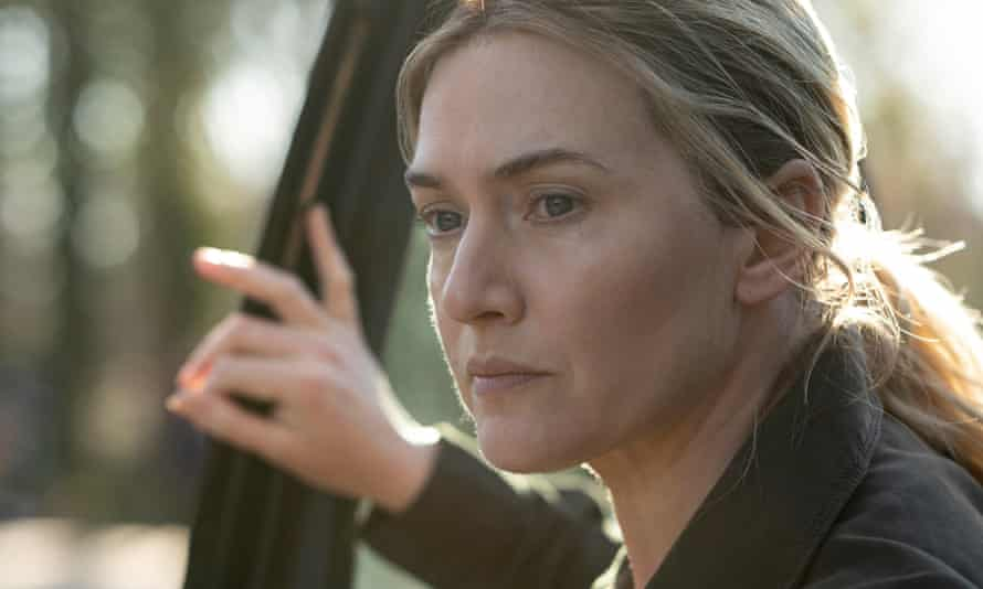 Kate Winslet in the finale of Mare of Easttown.