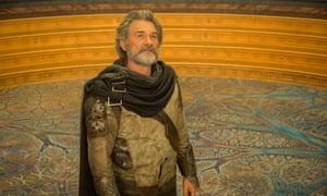 Kurt Russell as Ego in Guardians of the Galaxy Vol 2