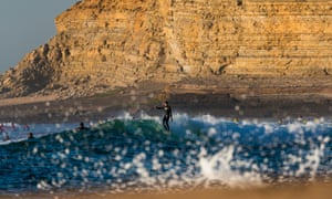 Wave hello to surfing in Portugal … surfers at Ericeira
