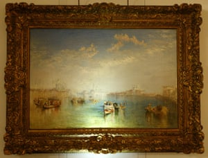 Giudecca, La Donna della Salute and San Giorgio by JMW Turner. Pissarro recommended the Turners he had seen in the museums to his son.