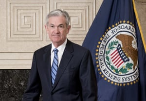 Jerome Powell., chair of the US Federal Reserve