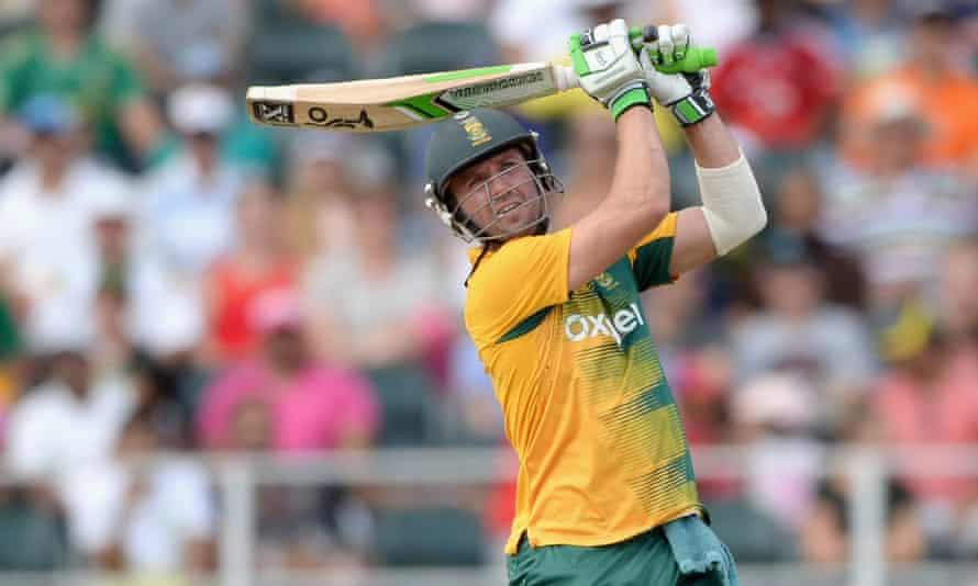 AB de Villiers hit the fastest-ever T20 50 by a South African batsman.
