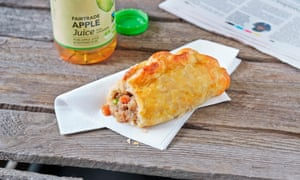 Not to Cornwall's taste … a Greggs beef and vegetable pasty.