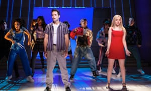 Justin Mortelliti, Dove Cameron and cast in Clueless: The Musical