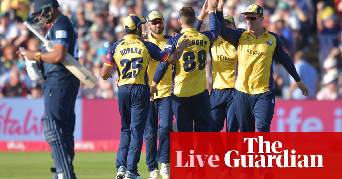 T20 Blast Finals Day: Essex to face Worcestershire in final –live!