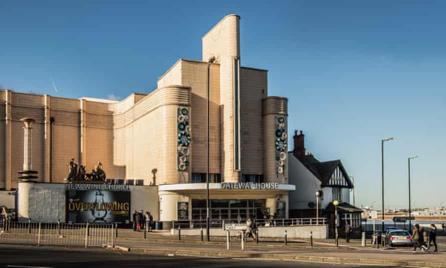 Woolwich Odeon cinema building.