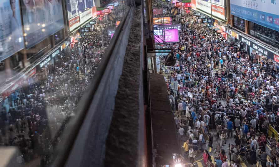 Noise from the pedestrianised Sai Yeung Choi Street South in Mong Kok, Hong Kong caused local residents so much distress city authorities reopened it to cars.