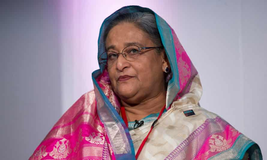 Bangladesh's prime minister, Sheikh Hasina.
