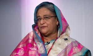 Bangladesh's prime minister Sheikh Hasina
