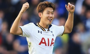 Son Heung-min is one of the nice guys and has been almost bashful in his post-match dealings with the media in England.