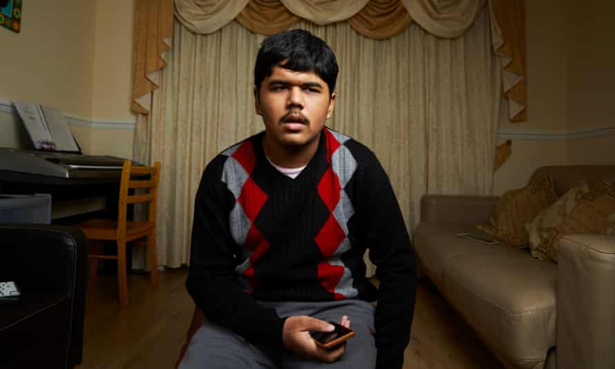 Arghojit Giri, 13, whose hero is Steven Hawking.