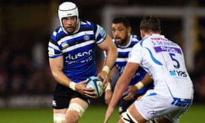 Dave Attwood in action for Bath