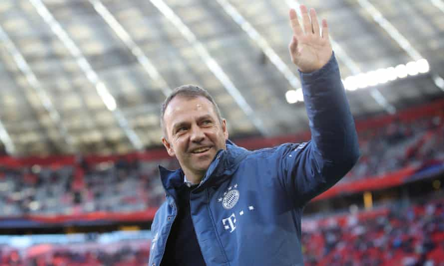 Hansi Flick replaced Niko Kovac last November and has overseen 18 victories in 21 games for Bayern Munich.
