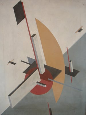 An El Lissitzky, the authenticity of which was under dispute in the trial.