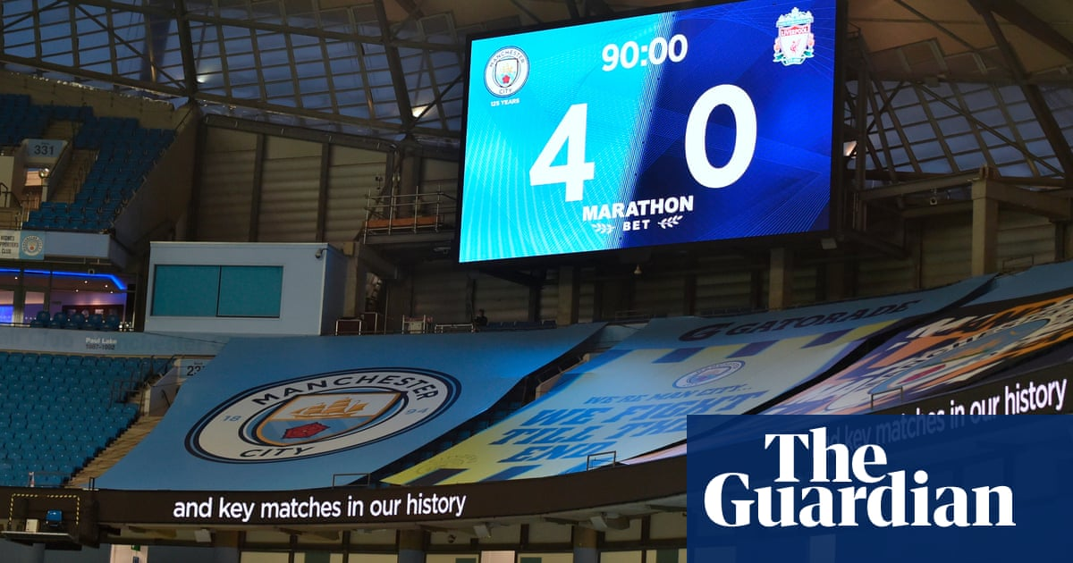 Liverpool's reign as undisputed champions was good while it lasted