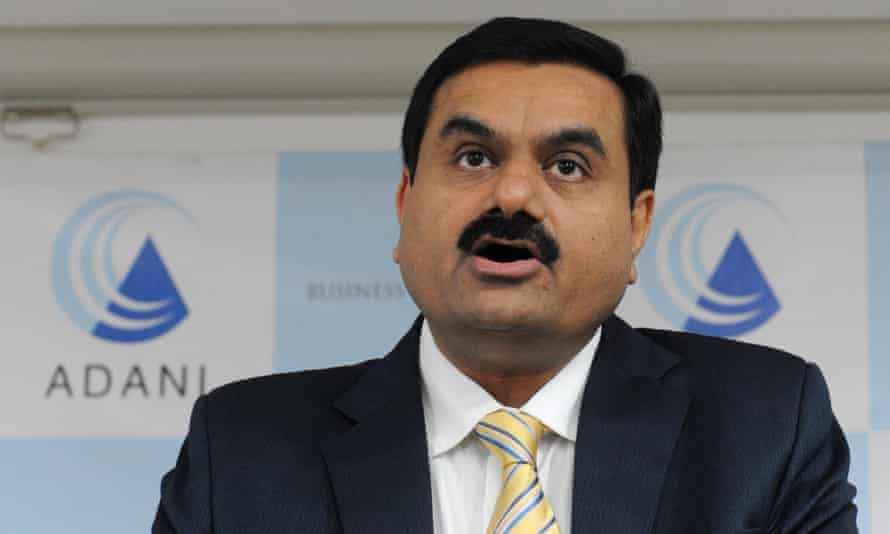 Gautam Adani, chairman of the Adani group, which wants to expand the Carmichael dam by 450% and build a pipeline without seeking a new environmental assessment.