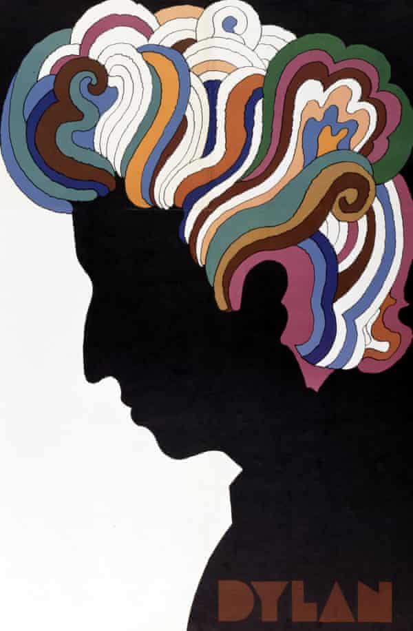 Milton Glaser, who had exquisite painterly skills, based his Bob Dylan poster on a self-portrait by Marcel Duchamp.