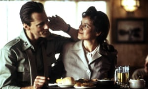 Sam Shepard with Barbara Hershey in The Right Stuff, 1983, his finest acting role, which brought him an Oscar nomination.