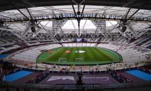 Is the vast London Stadium simply too big for a club of West Ham United's stature at the moment?