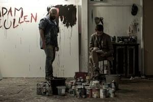Daniel Henshall as Adam Cullen and Toby Wallace as Erik Jensen