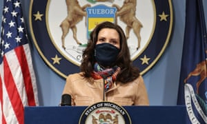 Gretchen Whitmer earlier this month.