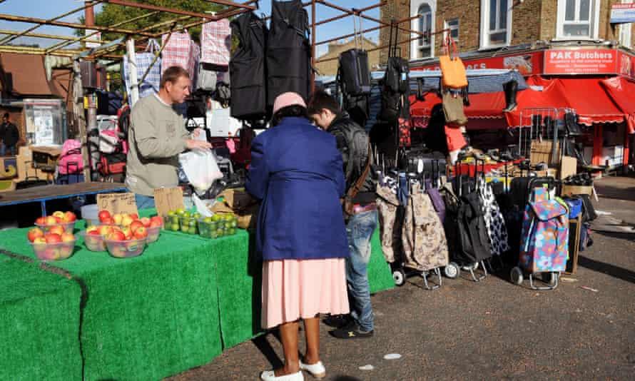 Ridley Road market, Dalston, east London