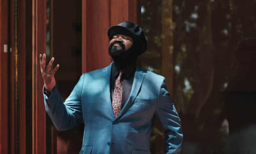 'Musically, this is not the time for anything mean or aggressive' ... Gregory Porter.