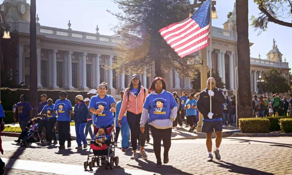 Martin Luther King Day march in Riverside, California in Our Towns