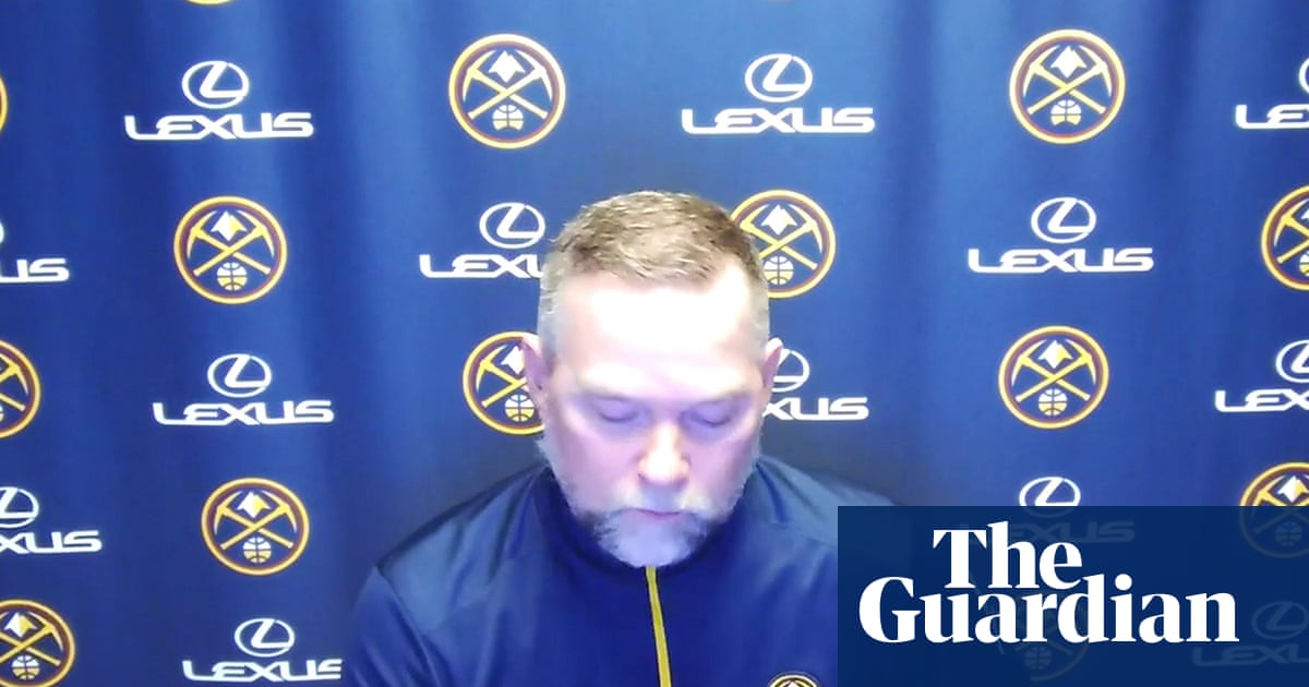 Tearful Nuggets coach Michael Malone reads names of Boulder victims