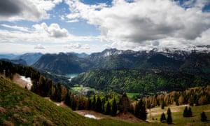 The Carnic Alps near Sauris.