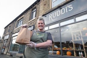 Ali Waterworth, co-founder of Ruddi's Retreat in Huddersfield, which will be handing out free food bags during half-term for any child who would normally get a free school lunch