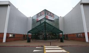 The Cineworld multiplex cinema in Feltham, west London.