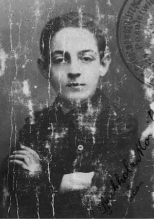 Photo of Philippe Sands' grandfather Leon