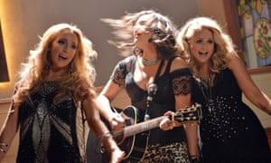 Pistol Annies shooting the video for Hush Hush in 2013.