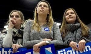 Hillary Clinton young women
