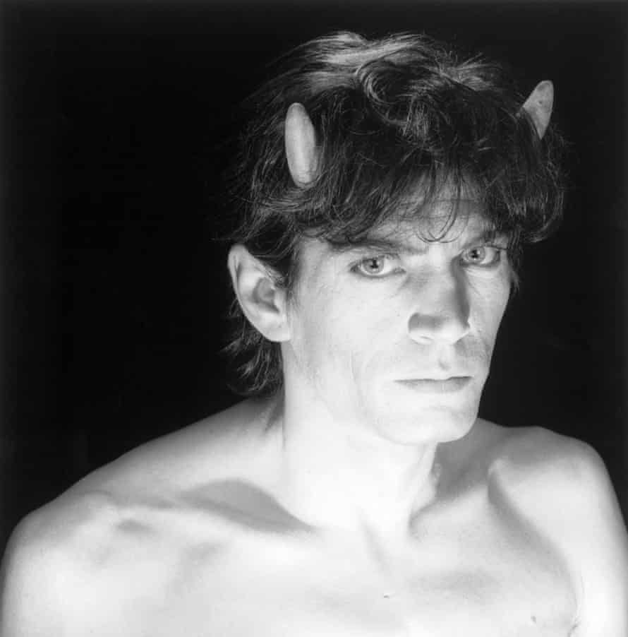 Mapplethorpe's 1985 self-portrait.